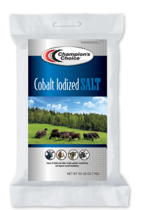 Cobalt Iodized Salt