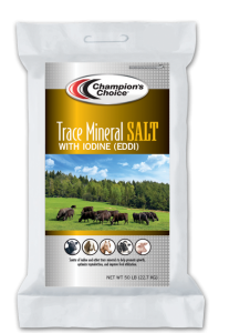 Trace Mineral Salt with Iodine (EDDI)